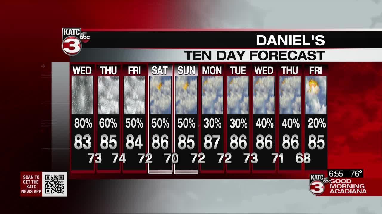 Daniel's Wednesday Weathercast 09/15/2021