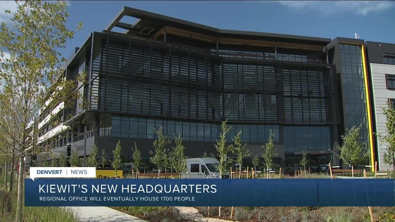 Kiewit opening new regional headquarters in Lone Tree
