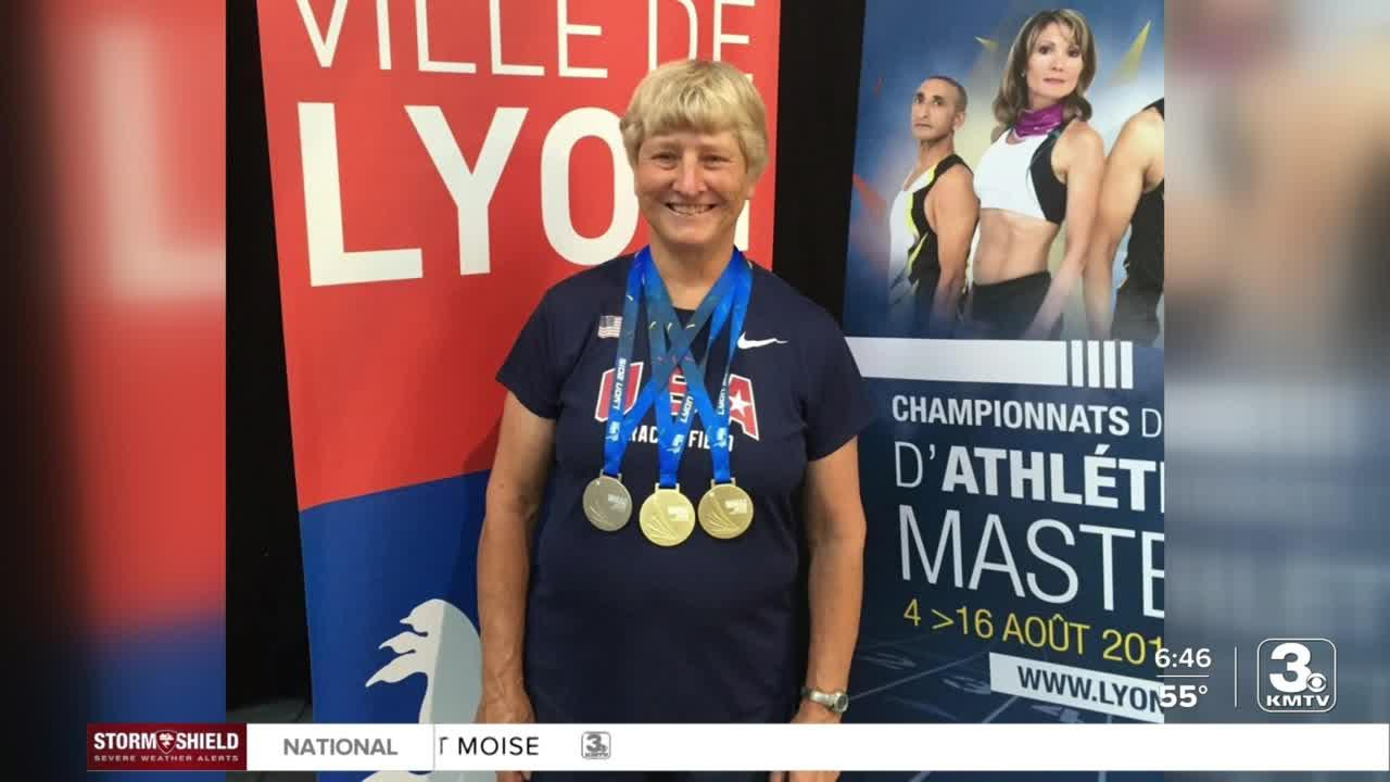 Carol Frost continues to break records at age 76