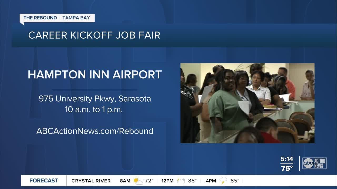 Hundreds of jobs available at the Sarasota JobLink job fair on Wednesday, September 15