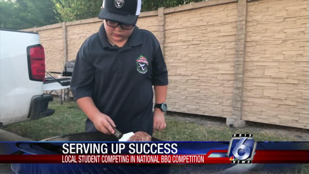 Beeville fourth-grader grilling up at national barbecue competition