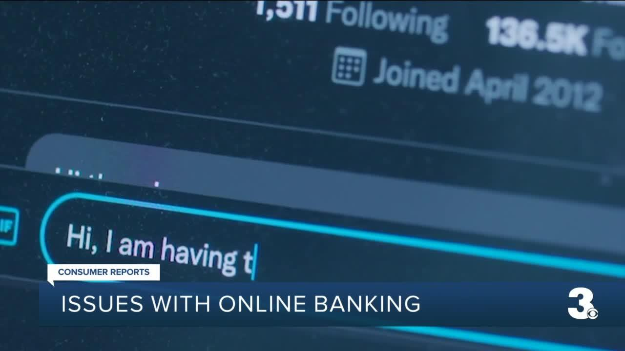 Issues with online banking