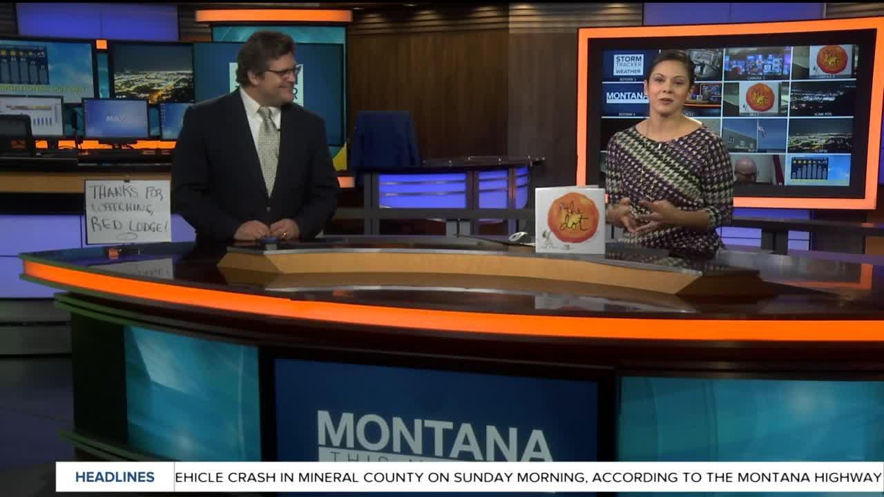 International Dot Day on Montana this Morning