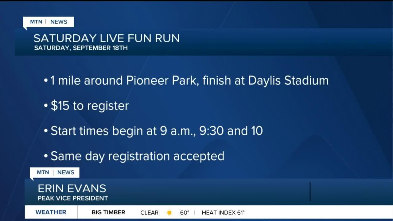 Saturday Live Fun Run planned to benefit EFBPS