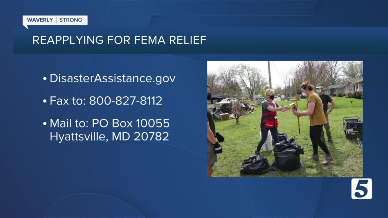 Flood survivors encouraged to appeal to FEMA if deemed ineligible for assistance