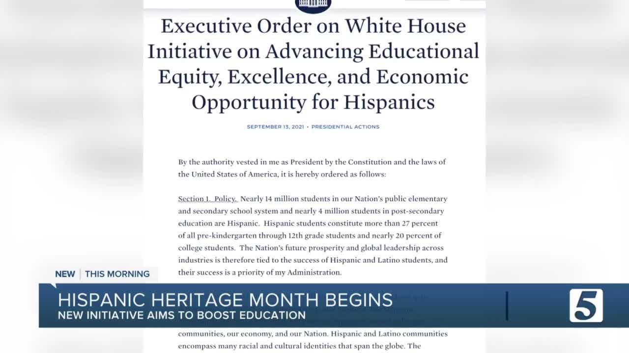 Mayor John Cooper to mark beginning of Hispanic Heritage Month with special proclamation