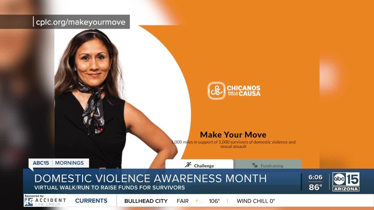 Virtual October walk/run to help domestic violence survivors in the Valley