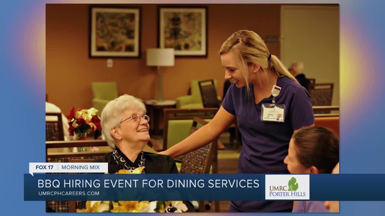 We're Hiring: UMRC & Porter Hills Dining Services