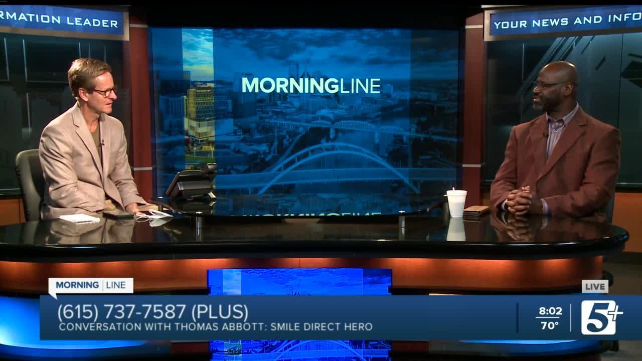 MorningLine: Conversation with Thomas Abbot: Smile Direct Hero P.1