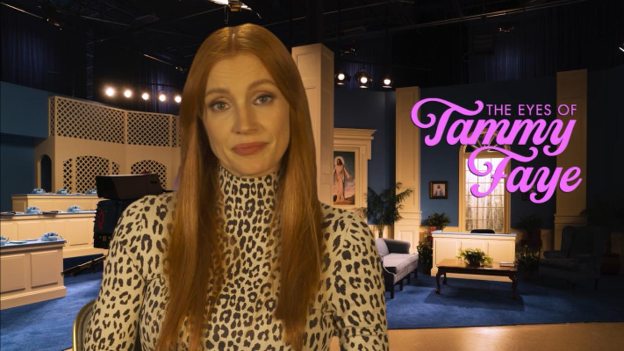 Jessica Chastain On 'Tammy Faye' Makeup