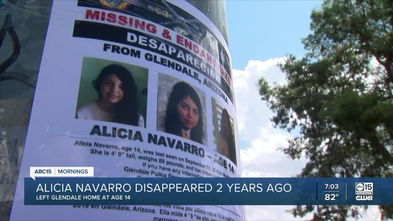 Where is Alicia Navarro? Teen has been missing for two years