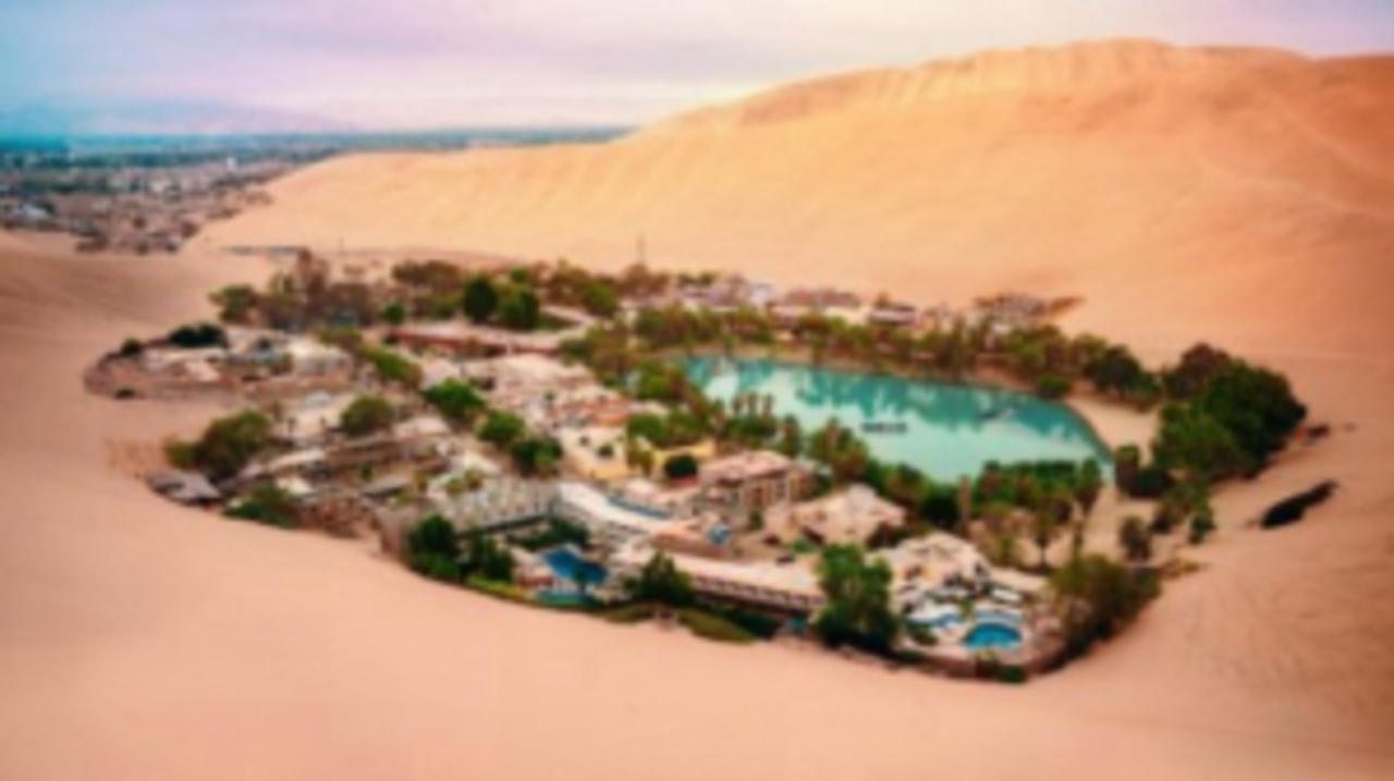 This Town Built Around a Desert Oasis Wows Residents and Visitors Alike
