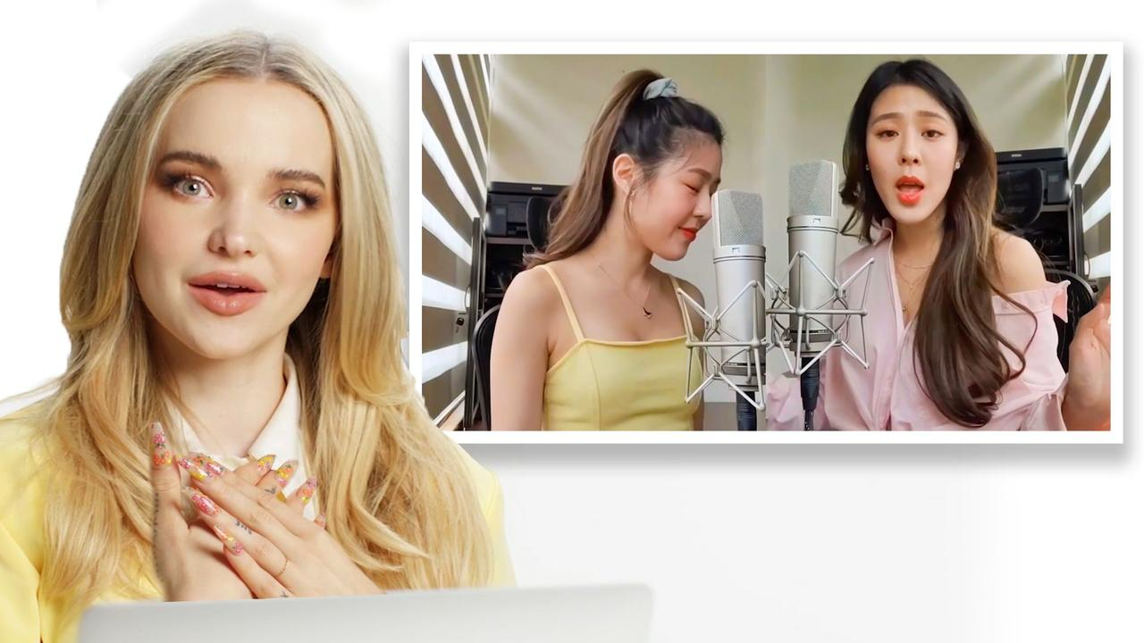 Dove Cameron Watches Fan Covers on YouTube - Part 2