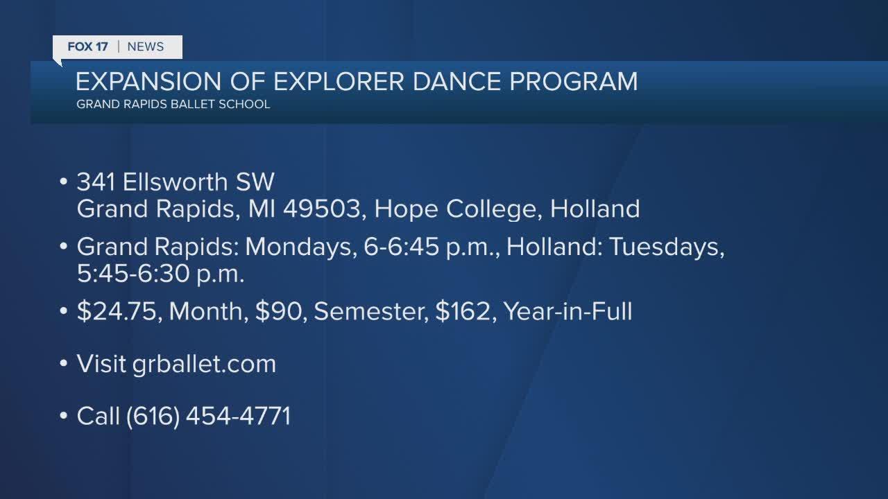 Expansion of Explorer Dance Program