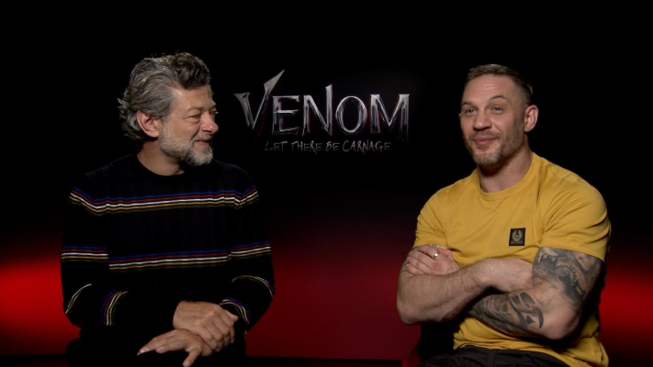 Tom Hardy & Andy Serkis Talk 'Venom: Let There Be Carnage'