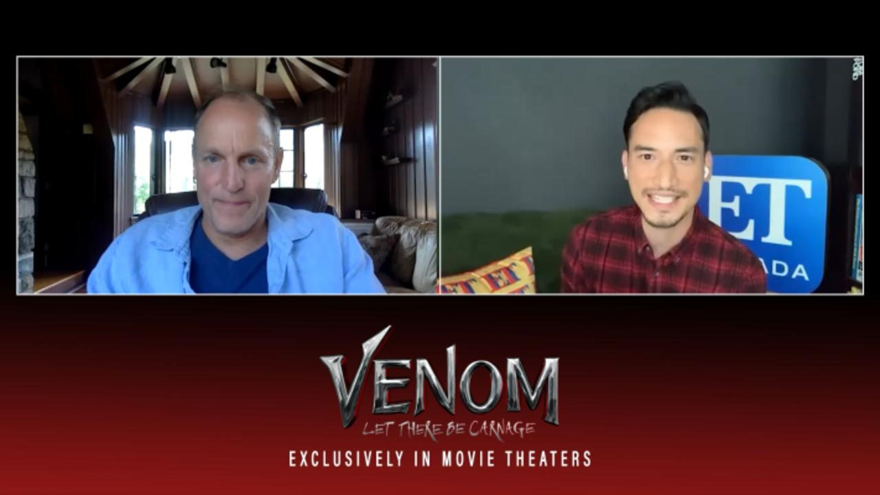 Woody Harrelson Talks Working With Tom Hardy On 'Venom'