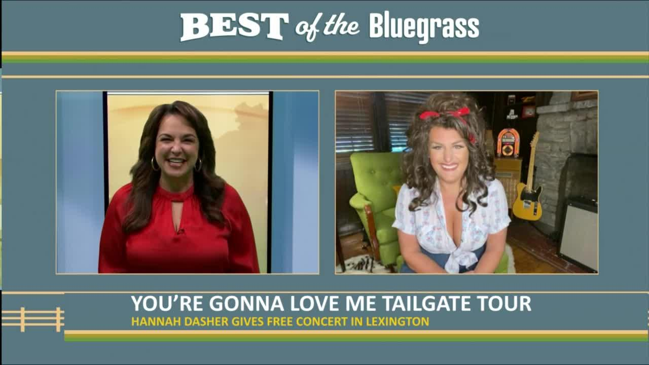 Hannah Dasher gives free concert in Lexington