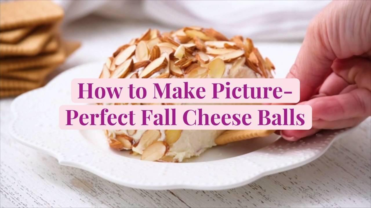 How to Make Picture-Perfect Fall Cheese Balls