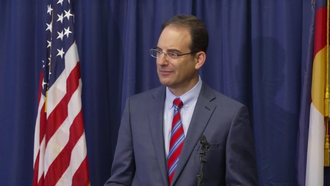 Colorado AG Weiser on findings of investigation into Aurora police, fire
