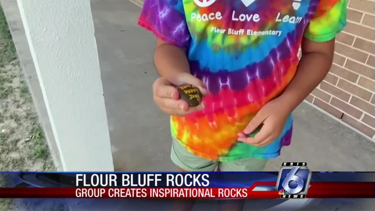 Spreading positivity with rocks
