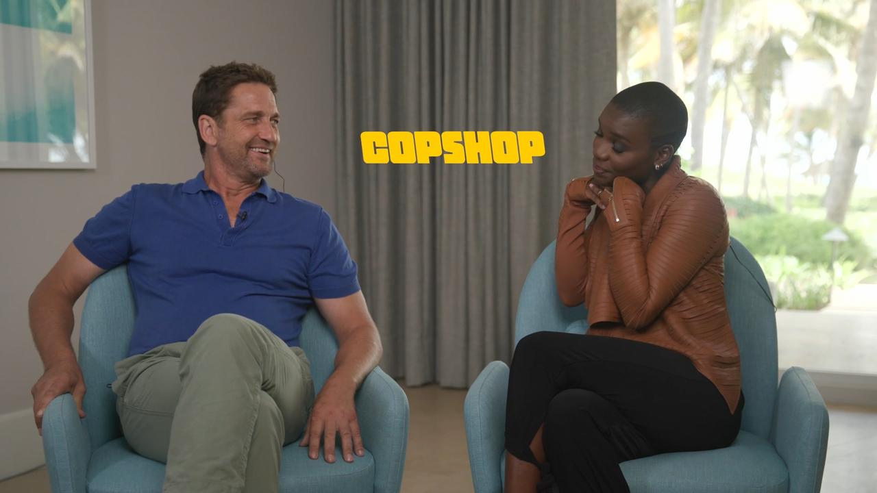 Gerard Butler On Starring As A Crazed Hitman In 'Copshop'