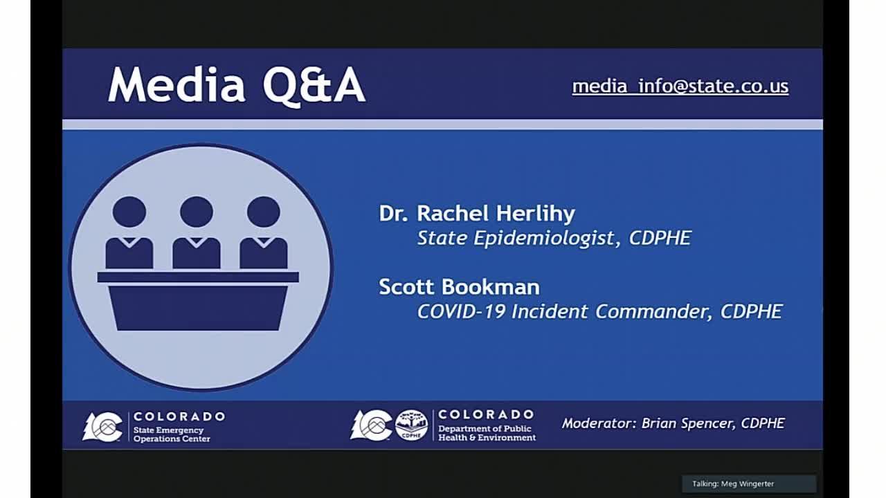 Latest on COVID-19 in Colorado