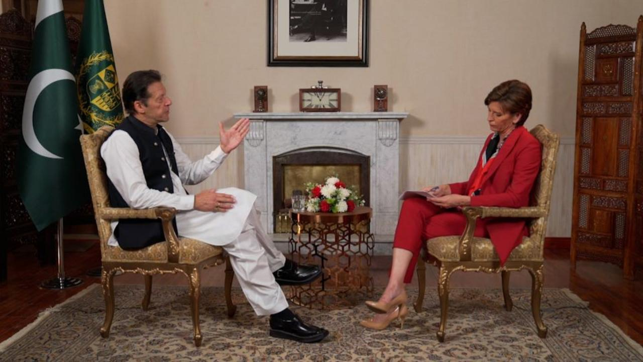 'A terrible relationship': Pakistan's PM on country's relations with US during Afghanistan war