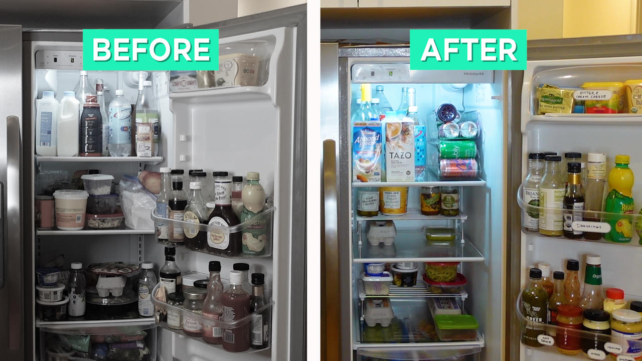 How To: Keep your refrigerator organized with roommates