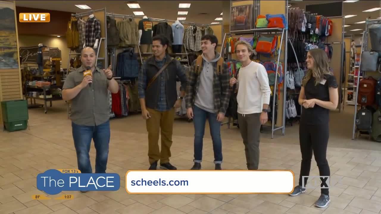 See the latest men's fashion at Scheels