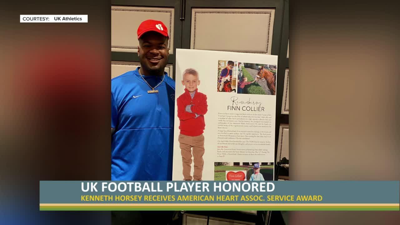 UK football player honored