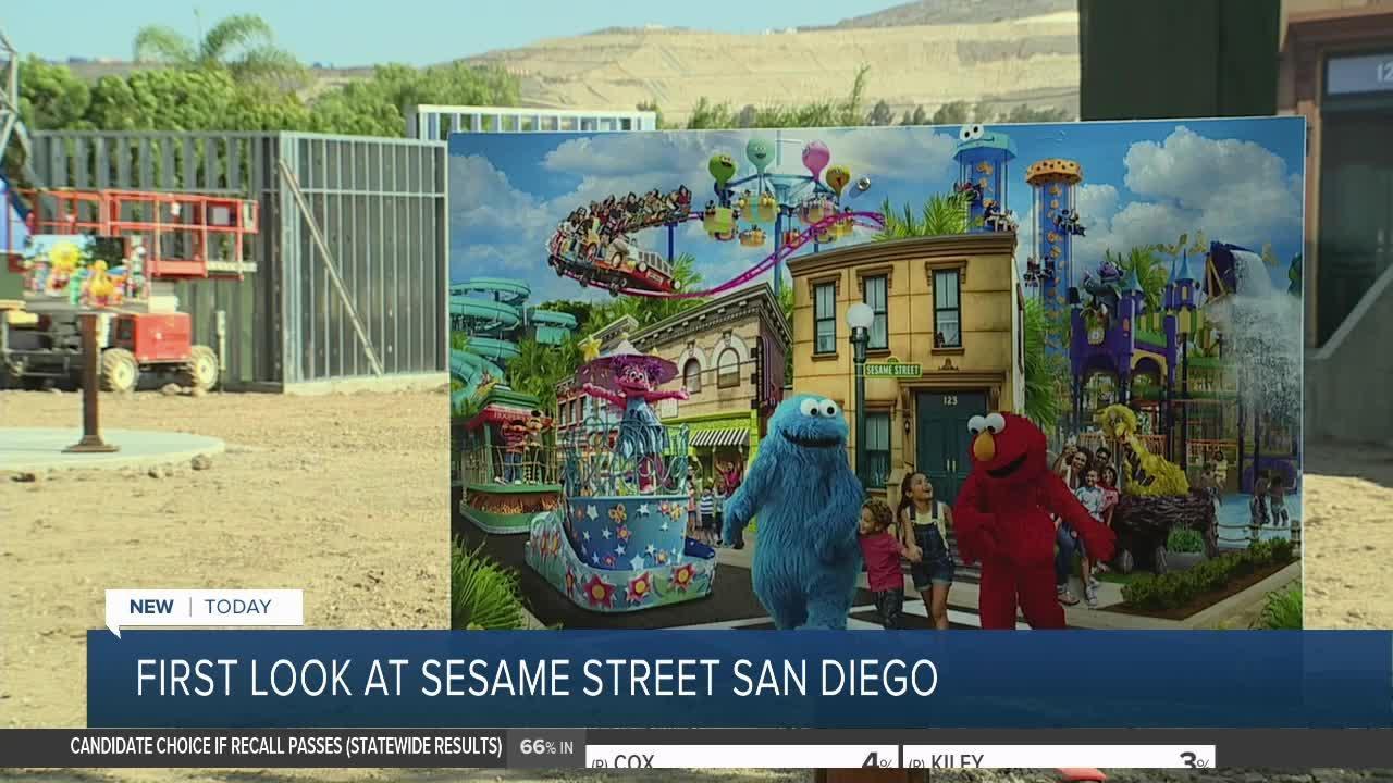 Sesame Place San Diego theme park coming soon