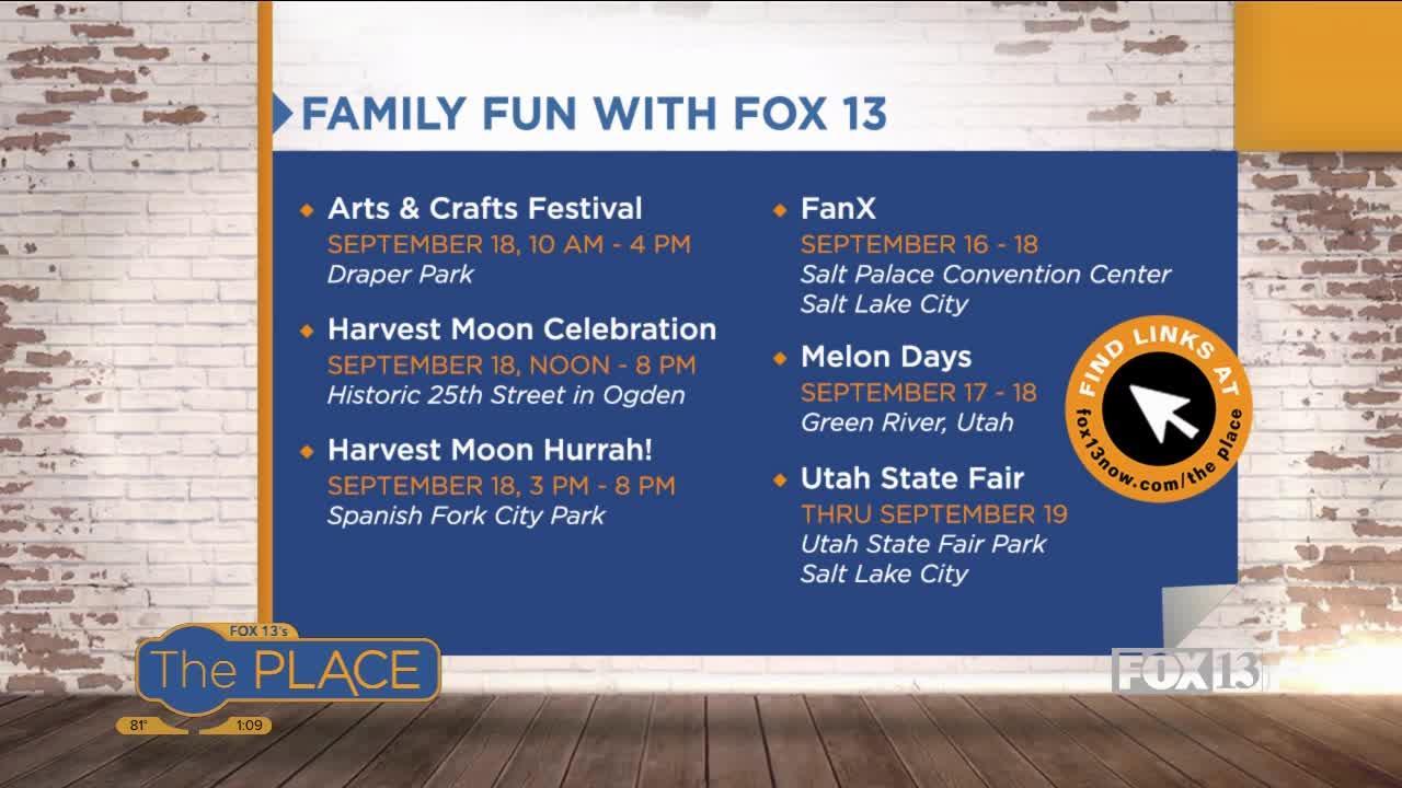 Family Fun with Fox 13 (9/15-9/19)