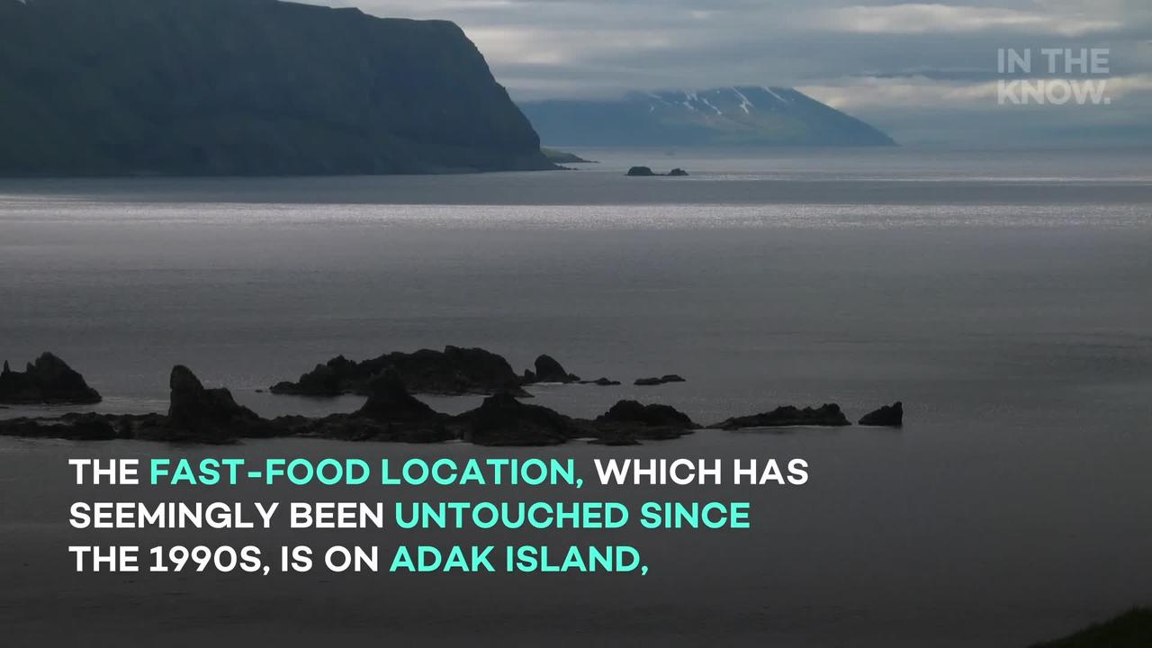 Twitter users discovered an 'abandoned' McDonald's on a remote island in Alaska