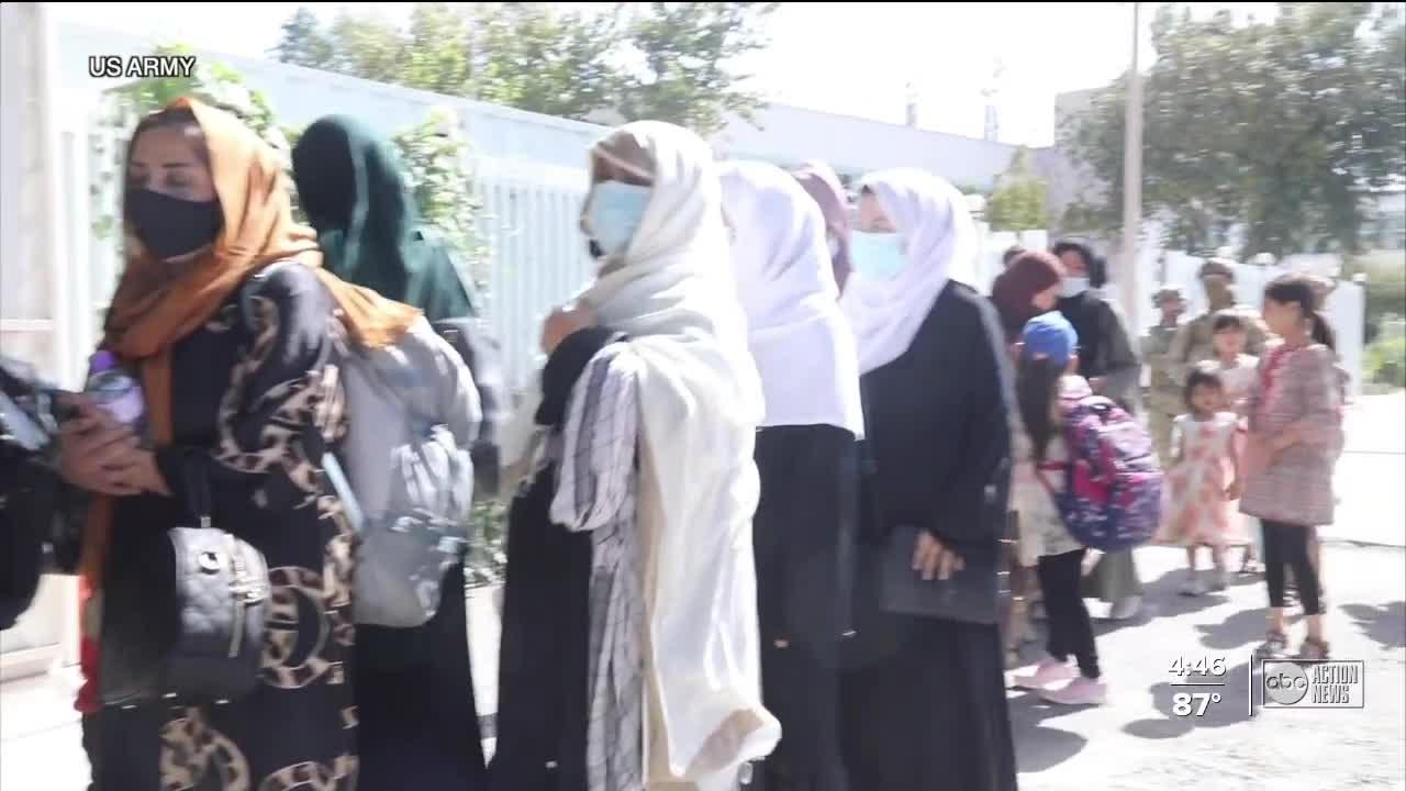 Afghan refugees will have a place to stay in Tampa Bay