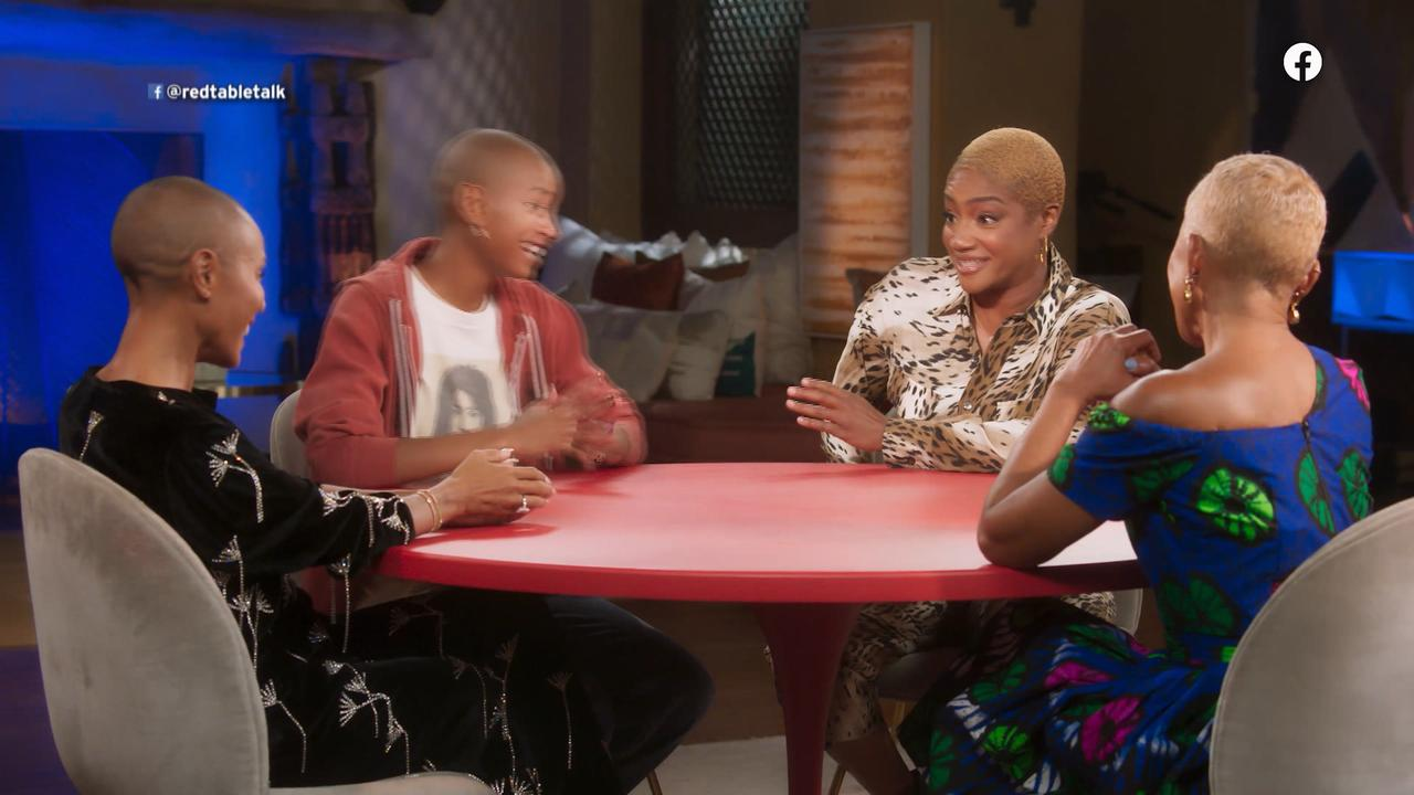Tiffany Haddish Reveals How Common Reacted To Her Shaved Head On 'Red Table Talk'