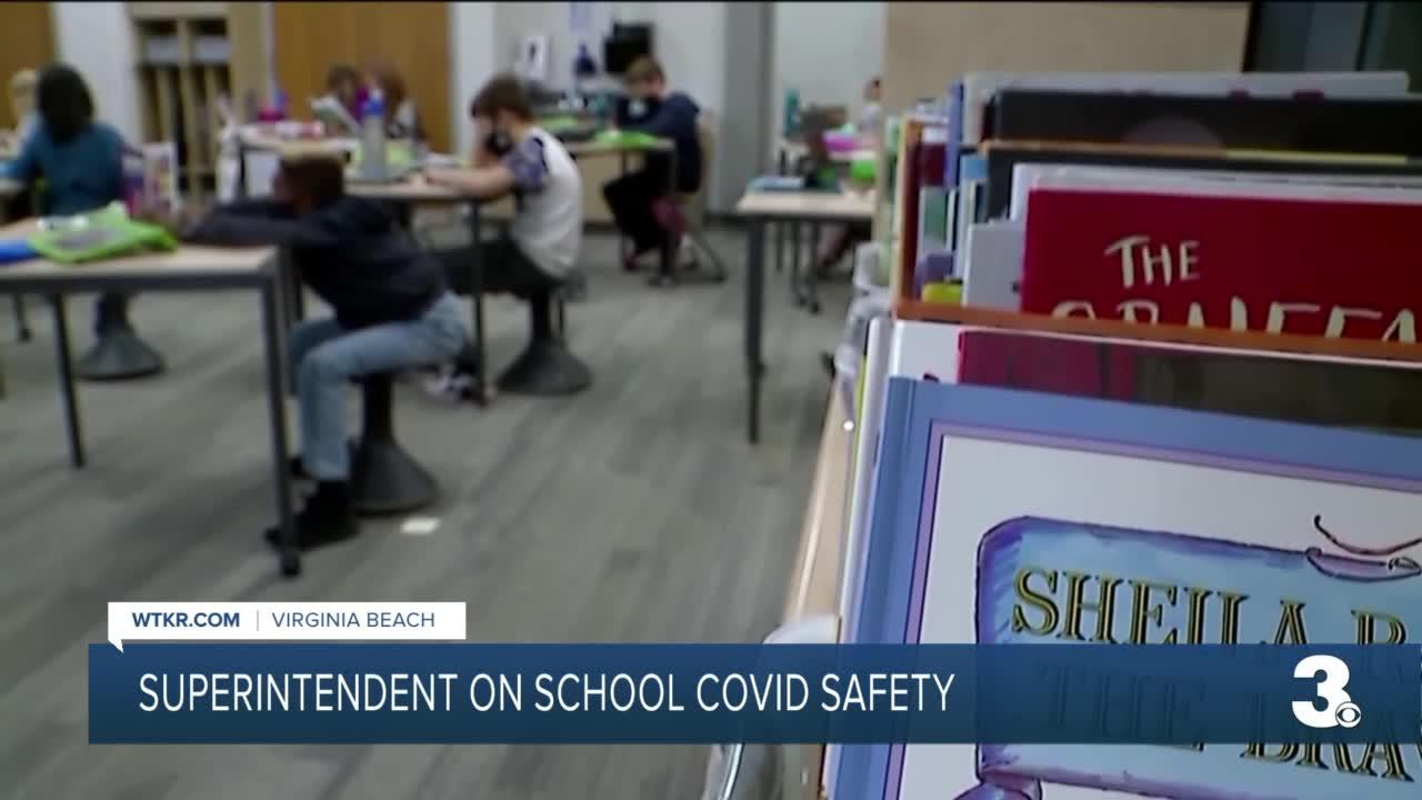Superintendent on COVID safety