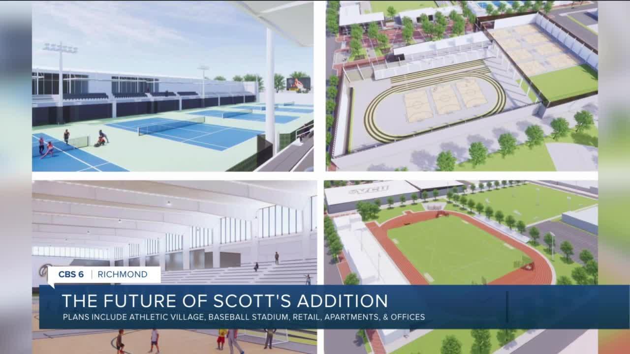 Future of Scott's Addition includes new VCU Athletic Village, baseball stadium