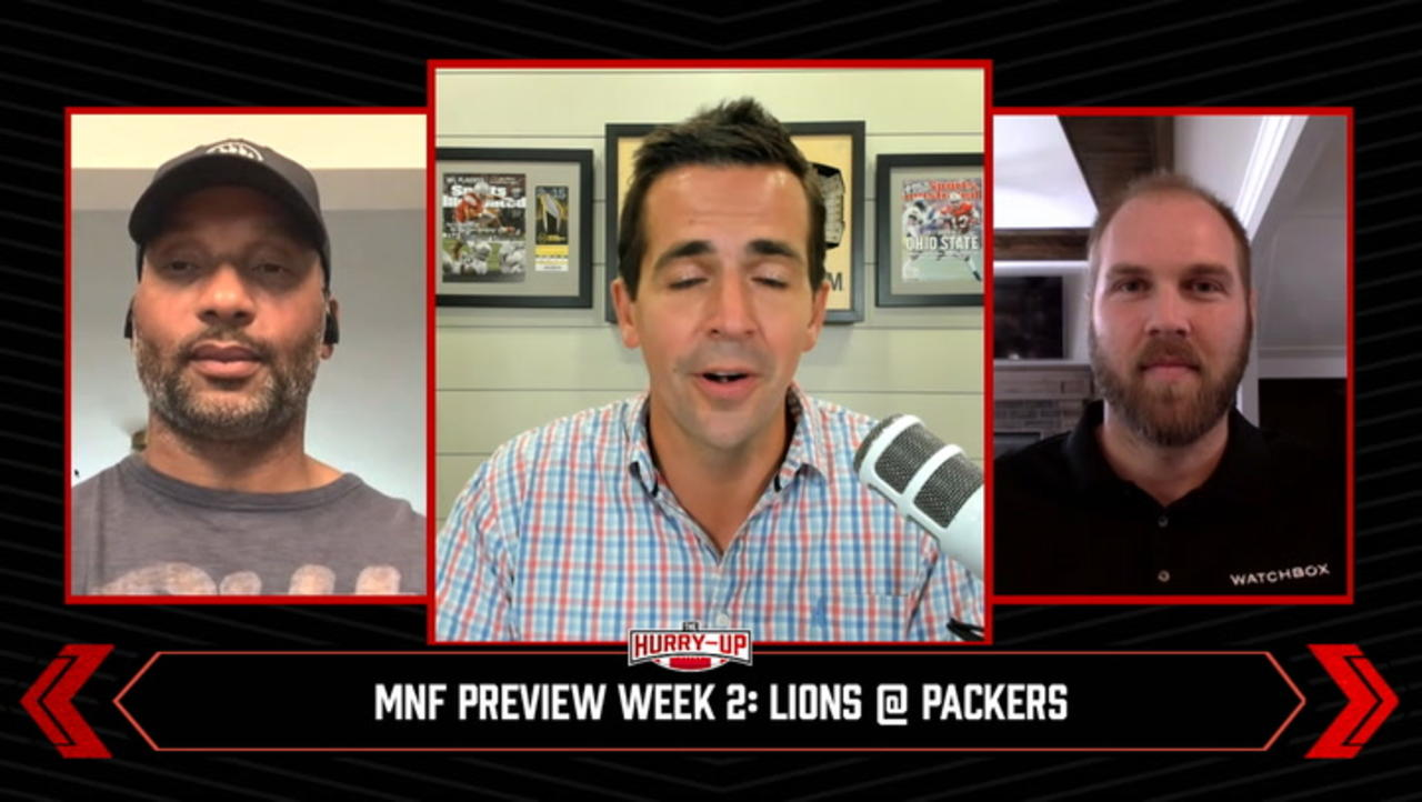 The Hurry-Up: Previewing Week 2's Monday Night Football Matchup Lions @ Packers