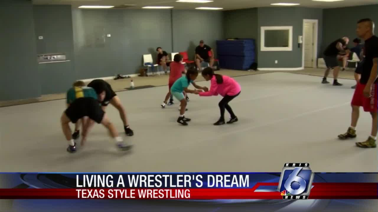 Wrestler who made history opens Texas Style Wrestling