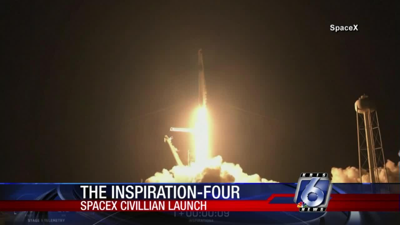 SpaceX successfully launches first all-civilian mission