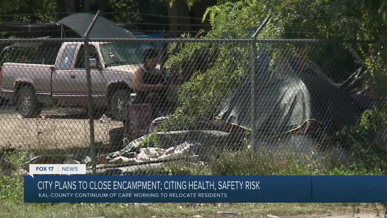 Ampersee Encampment to Close
