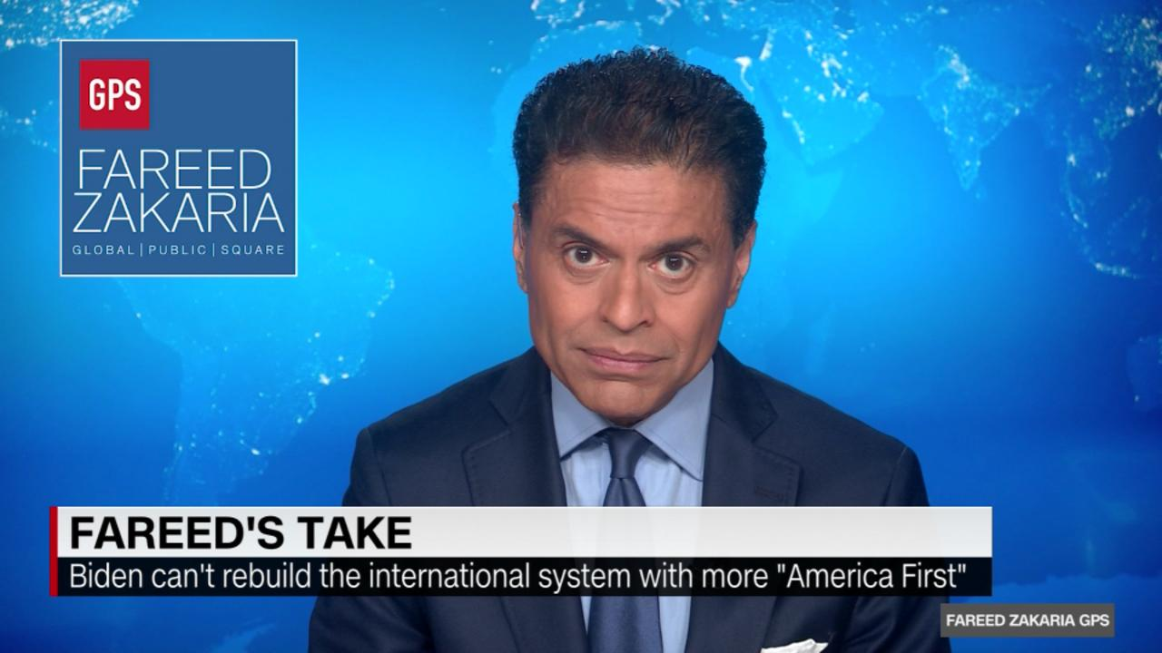 Fareed: Biden's policy is more Trump than Obama