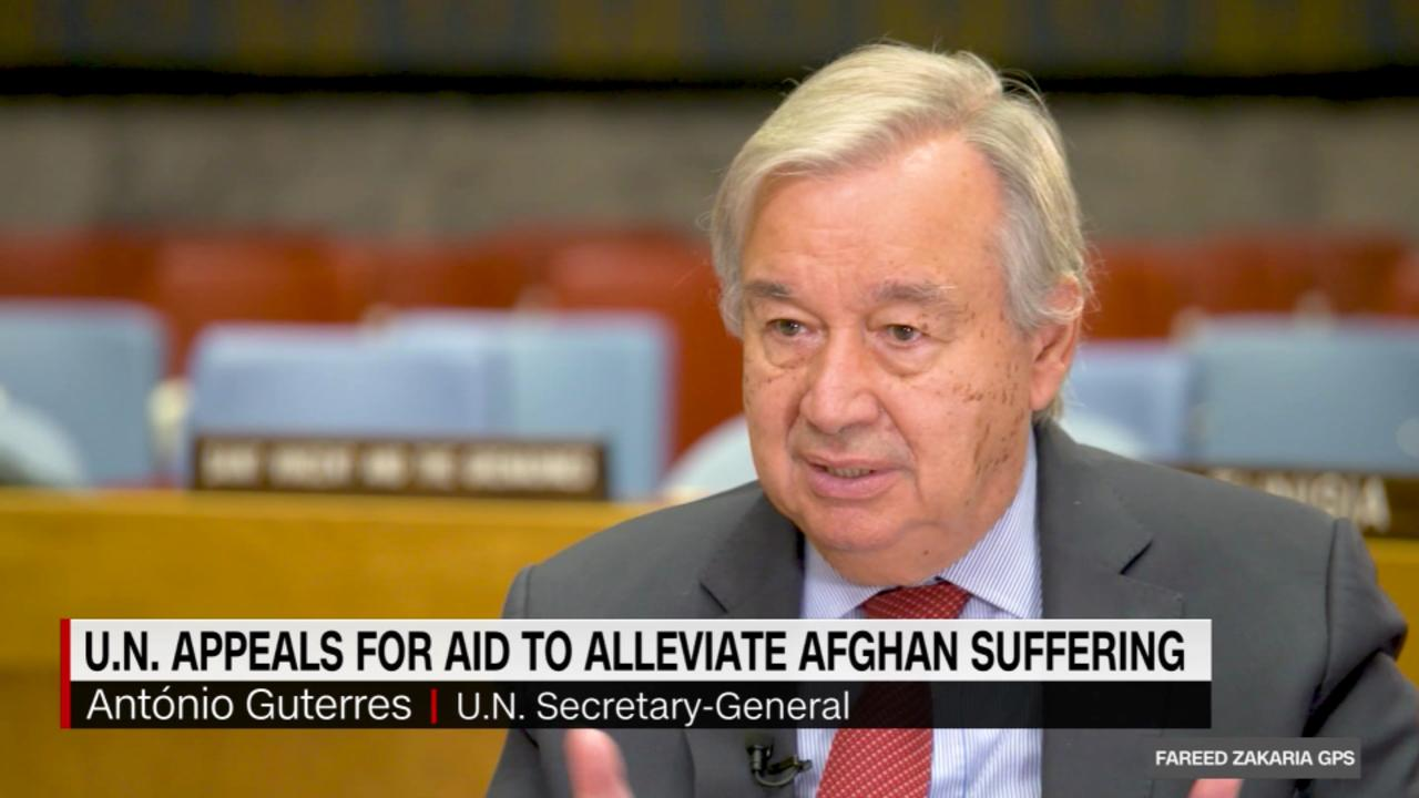 On GPS: The UN Secretary-General on Afghanistan