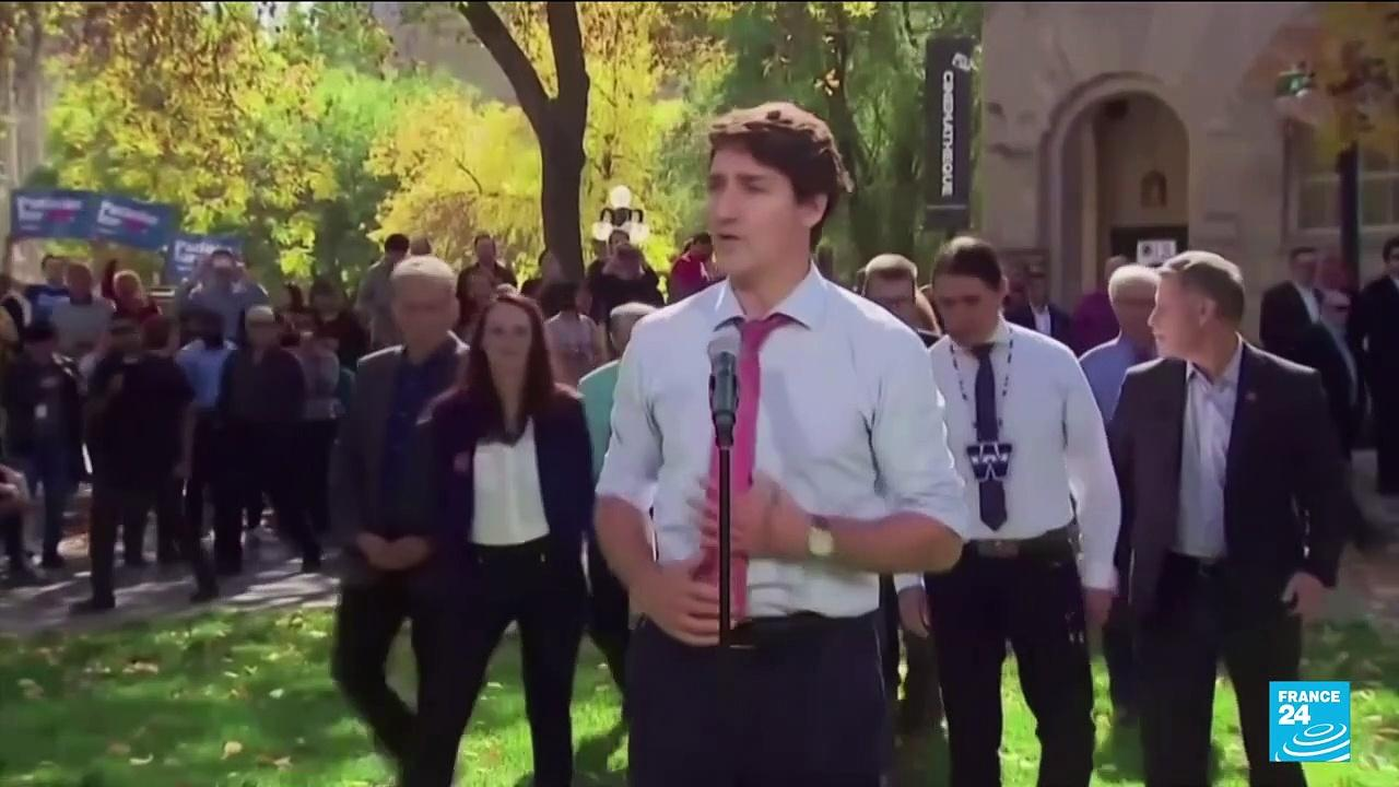 Canada's Trudeau may cling to power in election but nlikely to secure majority