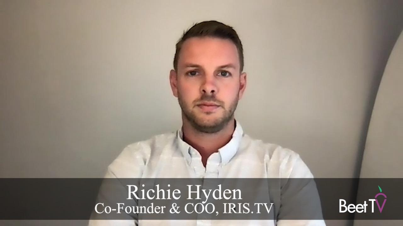 IRIS.tv Enables Amagi's Contextual CTV On Road To The Buy Side: Hyden