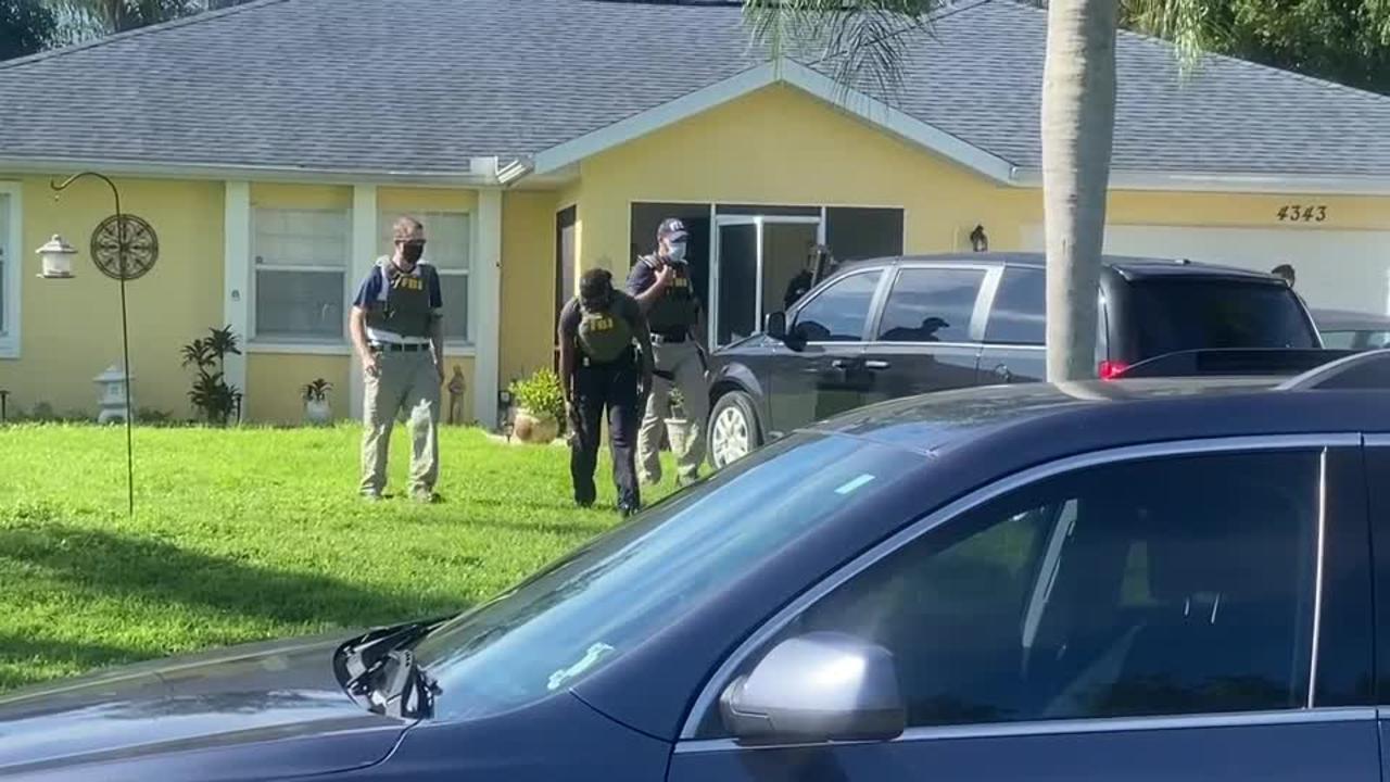 FBI enter home of Brian Laundrie