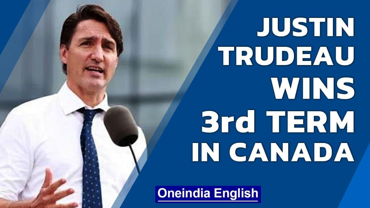 Canadian PM Justin Trudeau wins 3rd term, but without a Liberal Party majority | Oneindia News