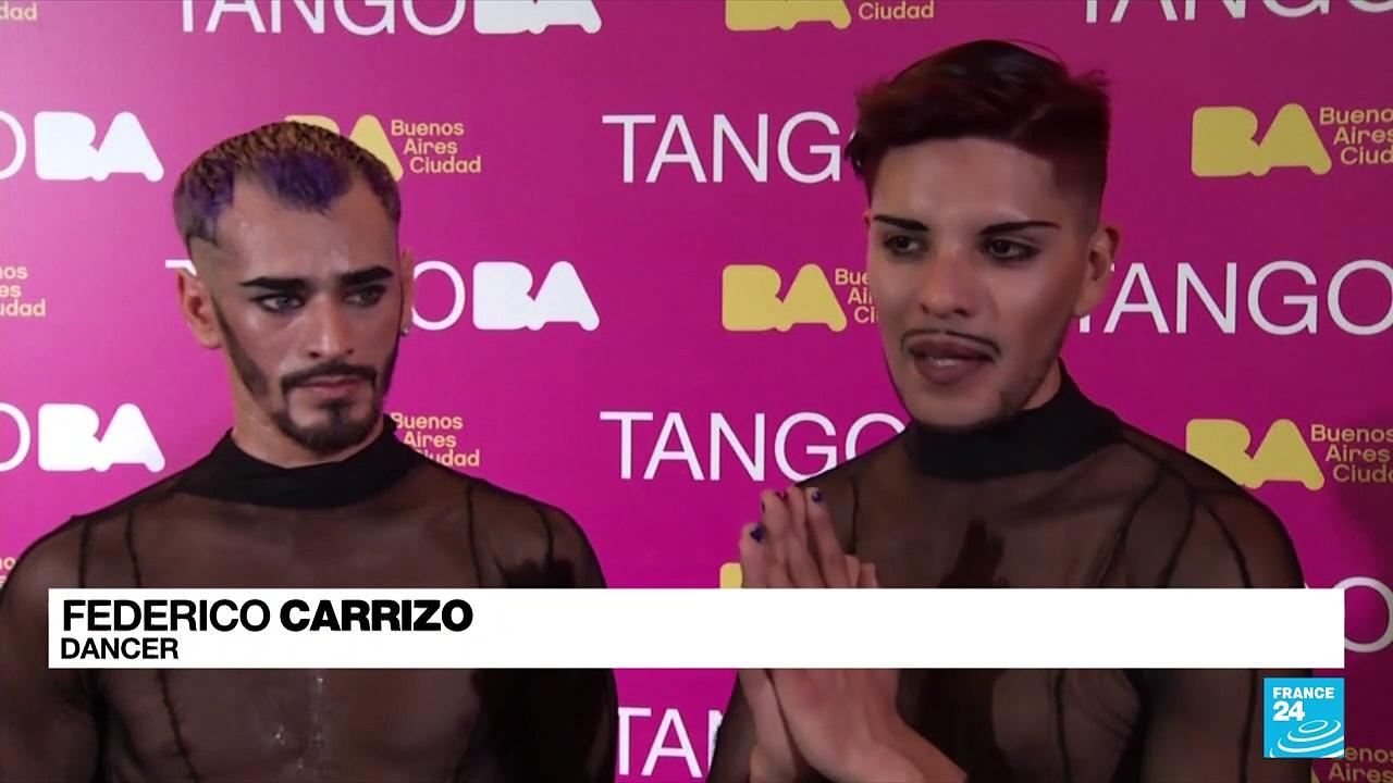 Dancers swing into action at Argentina's World Tango Championship