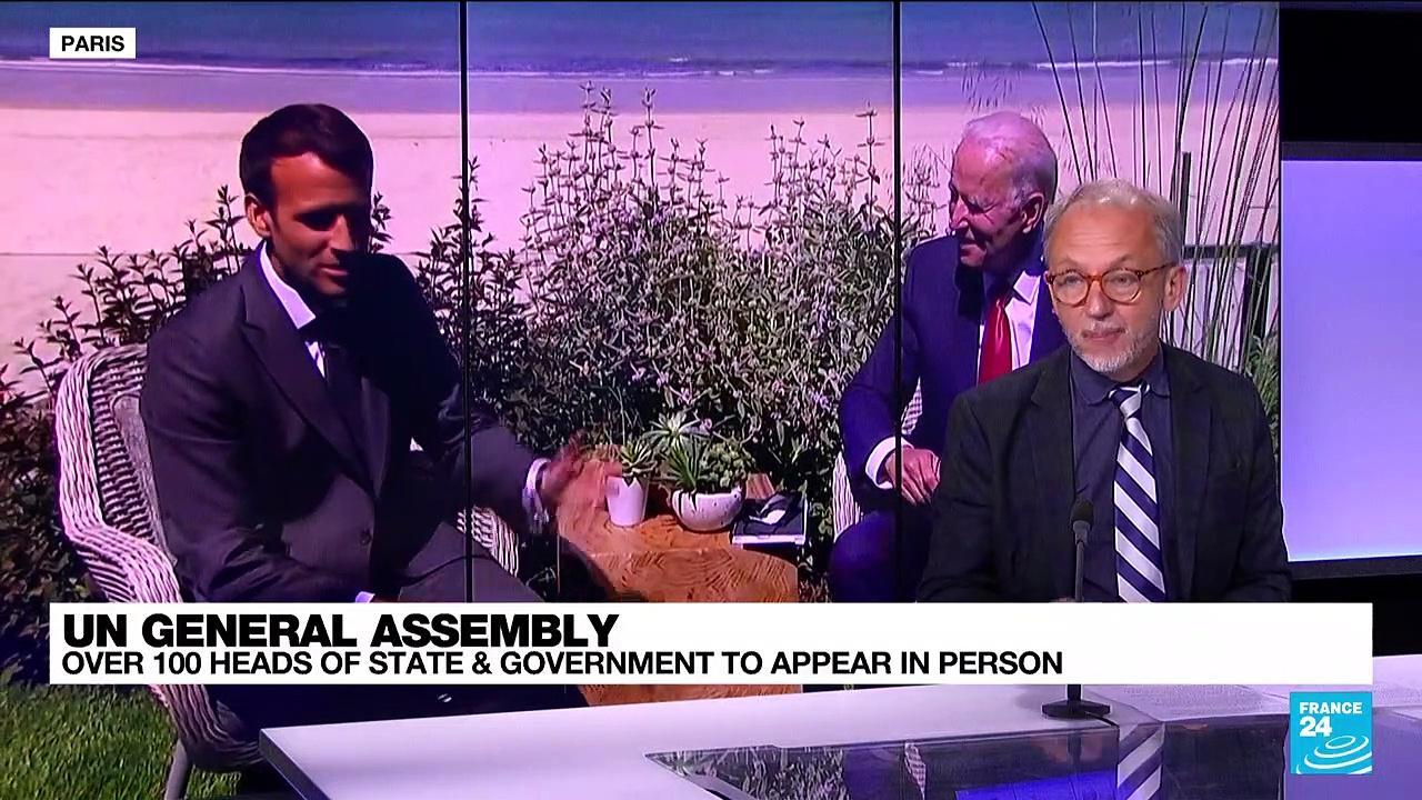 UN General Assembly: Joe Biden will seek to reassure on US leadership