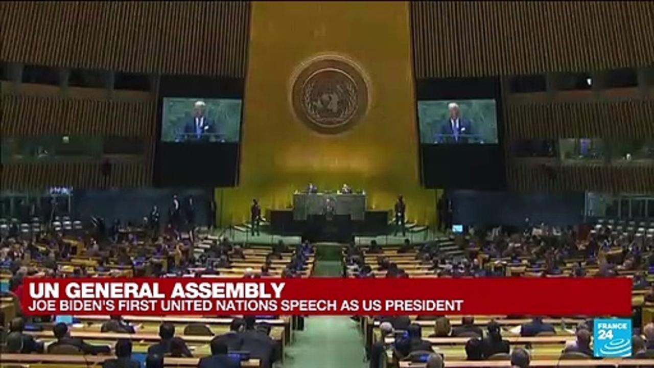REPLAY - UN General Assembly: Joe Biden's first UN speech as US president